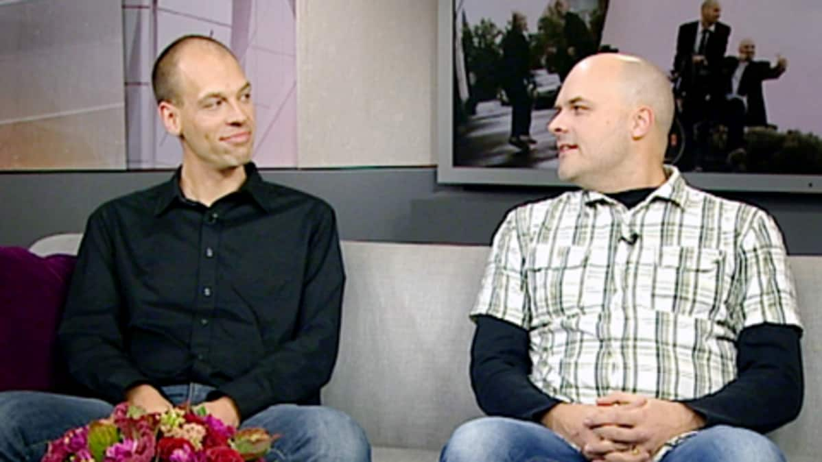 Jussi ja Kalle Chydenius.