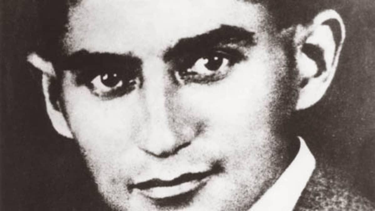 Kuvassa Franz Kafka