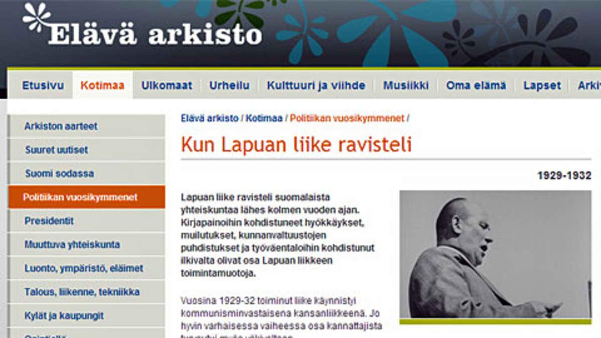 Lapuan liike syntyi 80 vuotta sitten | Yle Uutiset | yle fi
