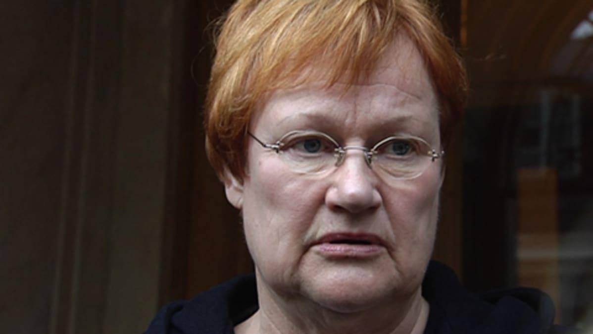 Presidentti Tarja Halonen