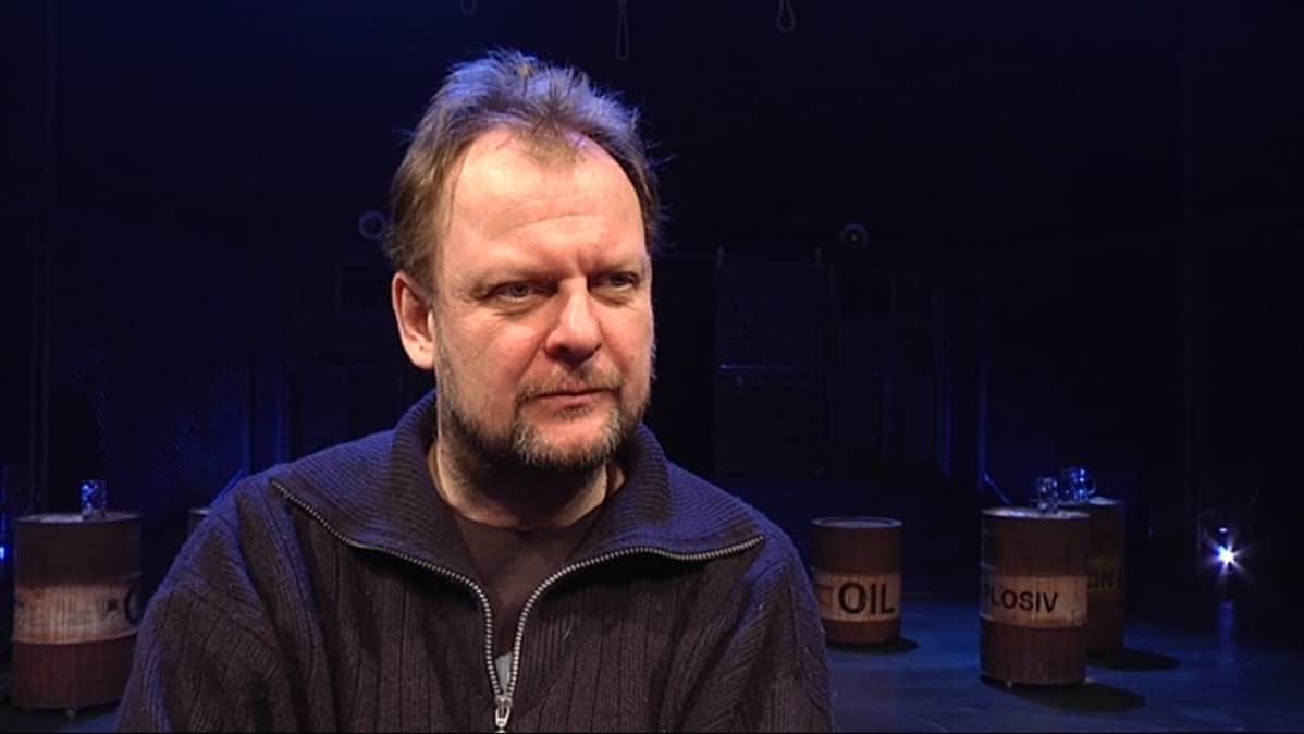 Lappeenrannan kaupunginteatterin johtaja Jari Juutinen.