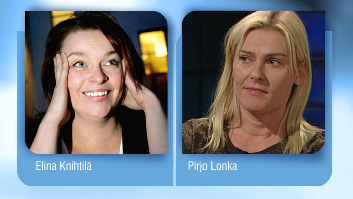 Elina Knihtilä ja Pirjo Lonka