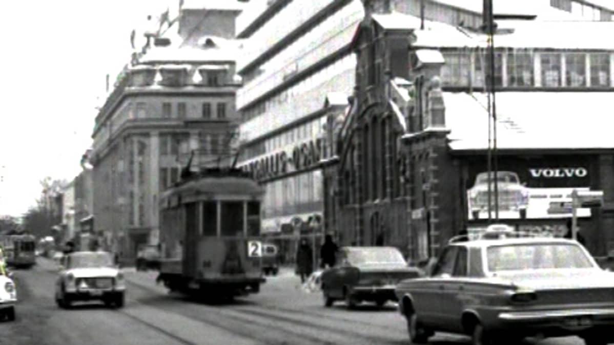 raitiovaunu Turussa