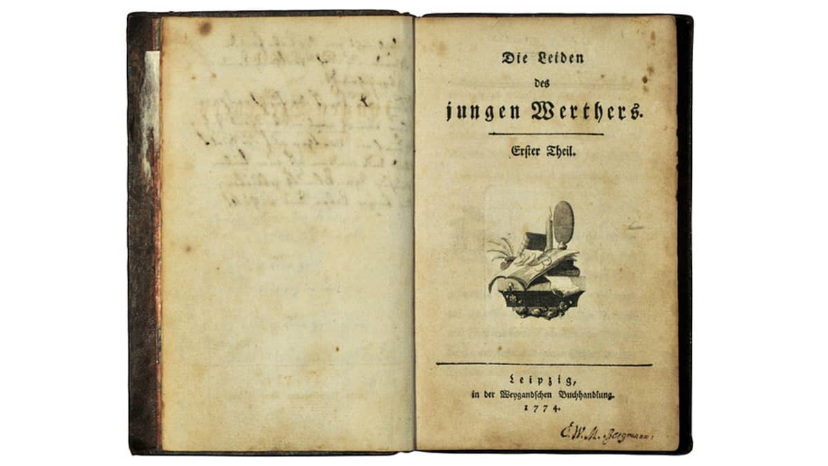 Die Leiden des jungen Werthers - The Sorrows of Young Werther - Nuoren Wertherin kärsimykset.