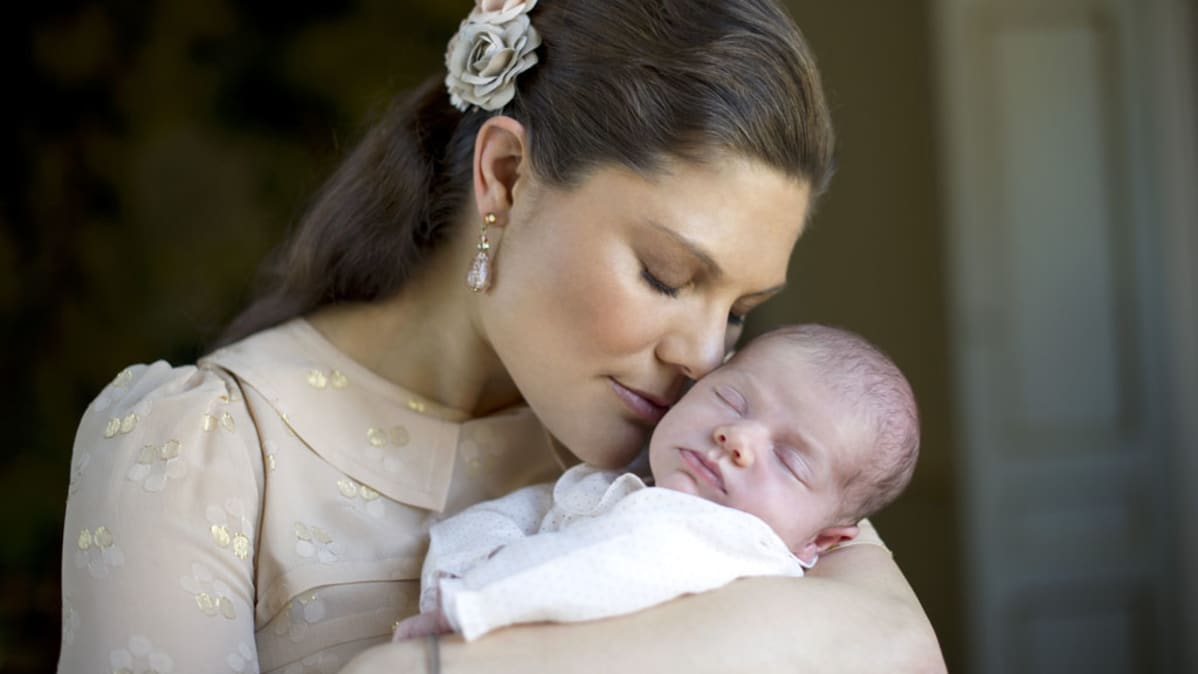 Prinsessa Victoria ja Estelle.