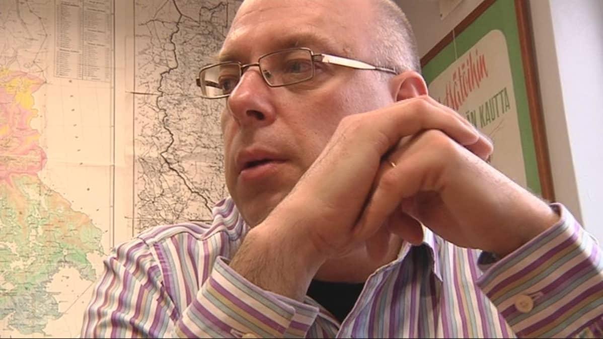 Tutkija Jukka Partanen.
