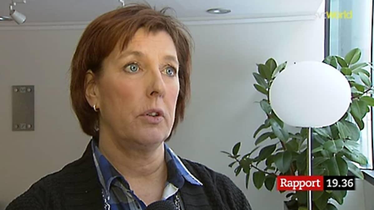 Ruotsin Keskusrikospoliisin rikostutkija Ulla Ahlbäck