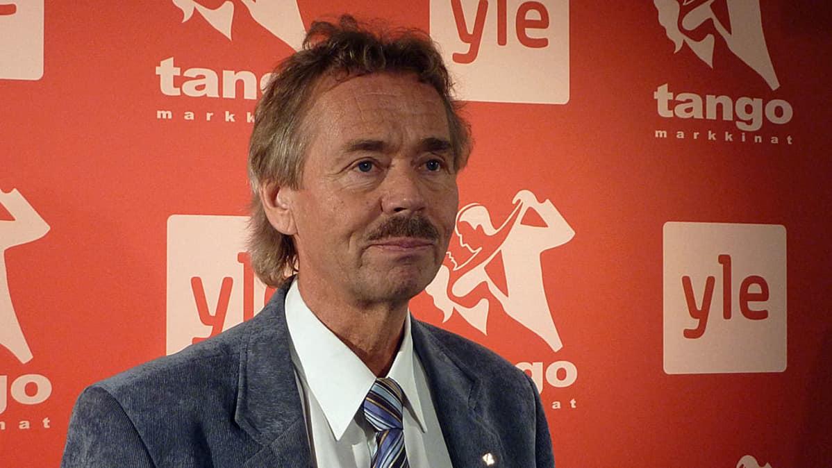 Tuomariston puheenjohtaja Martti Haapamäki