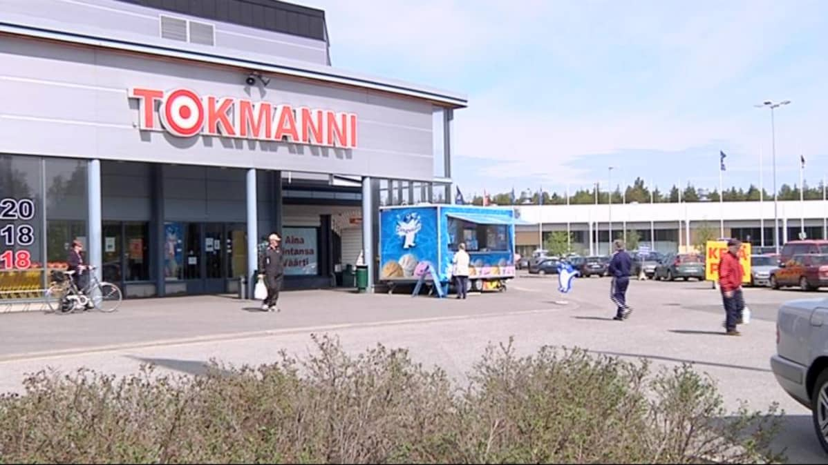 Tokmannin Joensuun myymälä.