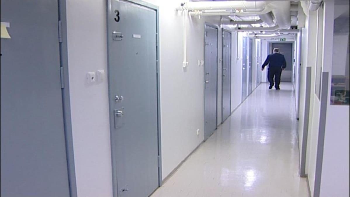 Kuva Pelson vankilasta Vaalasta.