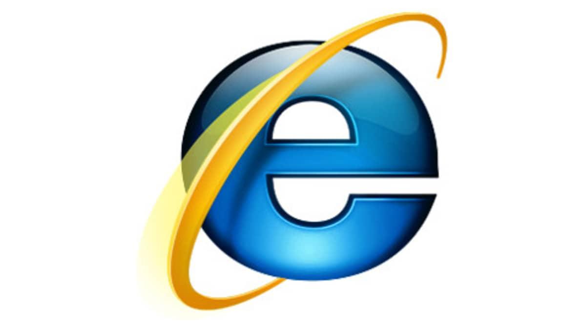 Internet Explorer 7:n logo