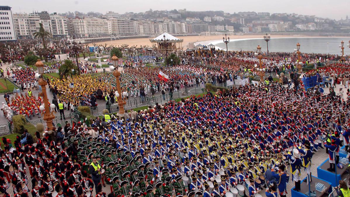 San Sebastianin kaupunkifestivaalit vuodelta 2006.