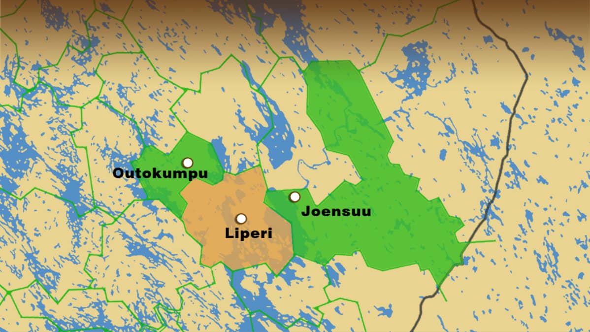 Outokumpu Kosiskelee Joensuuta Kuntaliitokseen Yle Uutiset Yle Fi