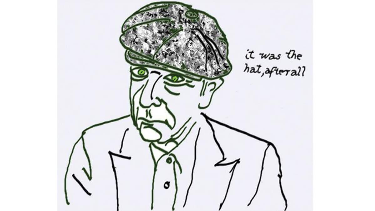 Leonard Cohenin omakuva.