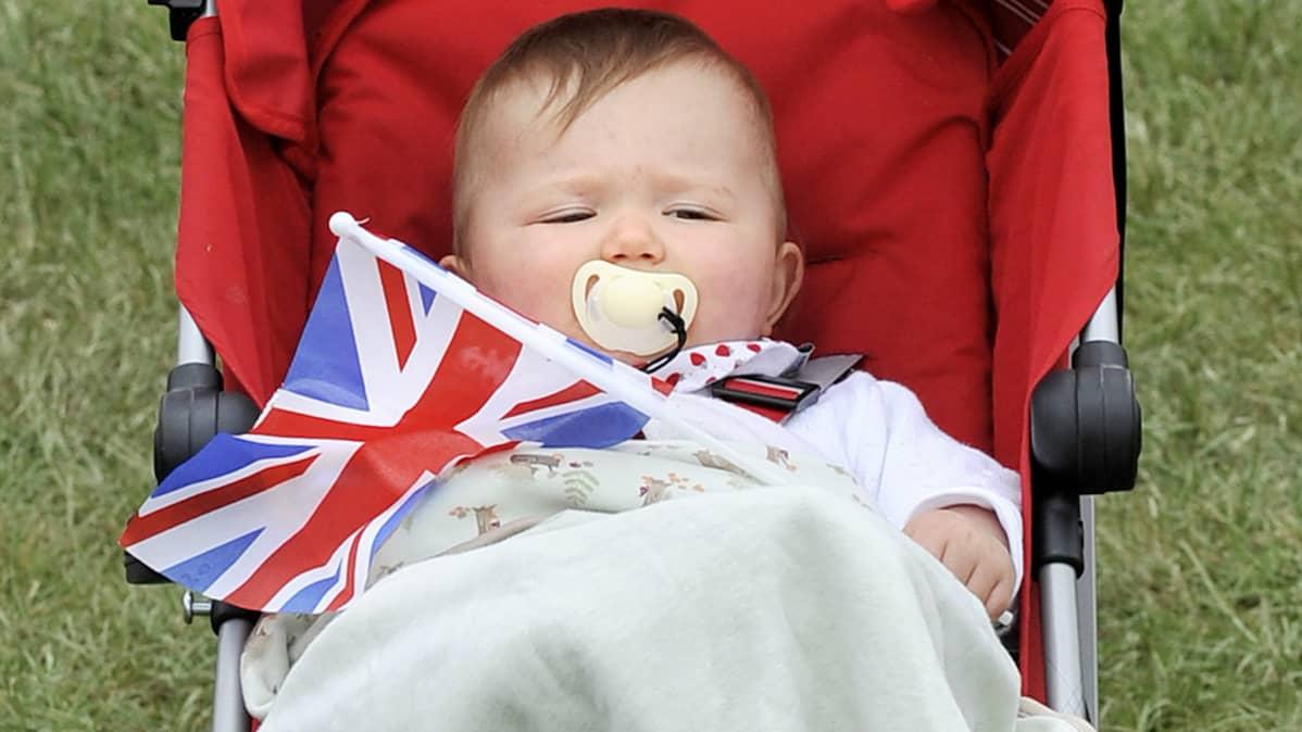 Vauva on mukana juhlimassa kunigatar Elisabethin 60 vuotista hallintokautta Lontoossa kesäkuussa.