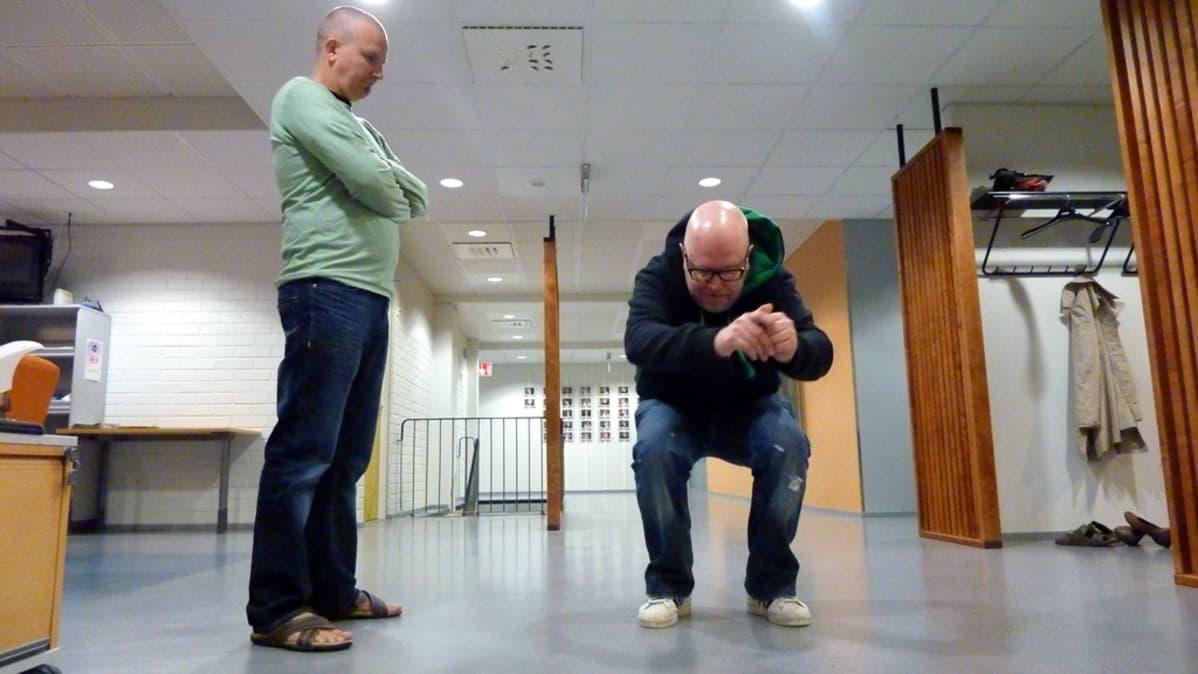 Janne Seppälä ja Mikko Pirinen