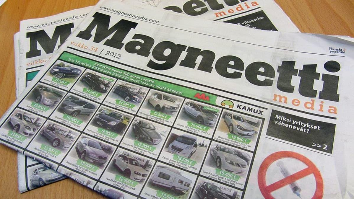 Magneettimedia-ilmaisjakelulehti.