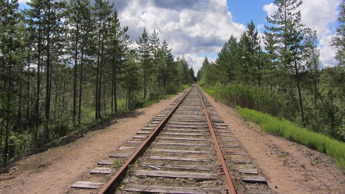 Pori-Parkano-rautatie Pomarkussa