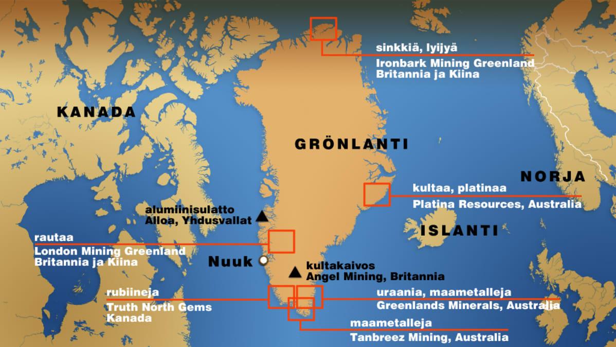 Gronlanti Havittelee Itsenaisyytta Yle Uutiset Yle Fi