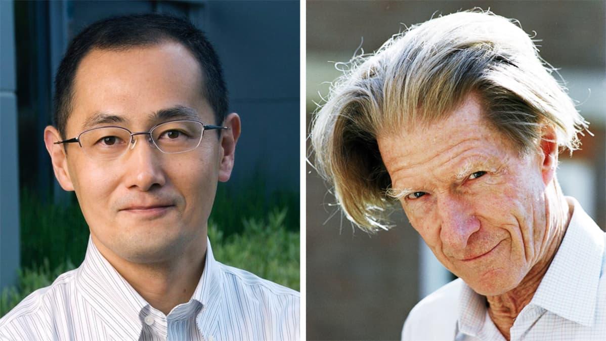 Shinya Yamanaka ja John Gurdon.