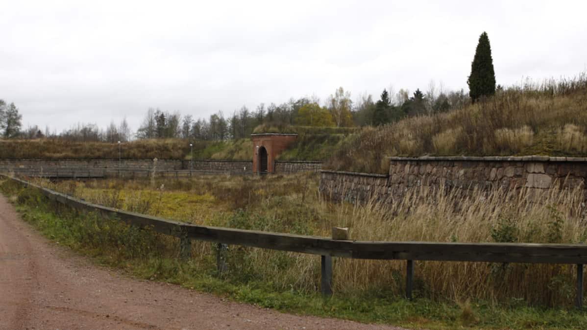 Portti Kyminlinnan vallissa.