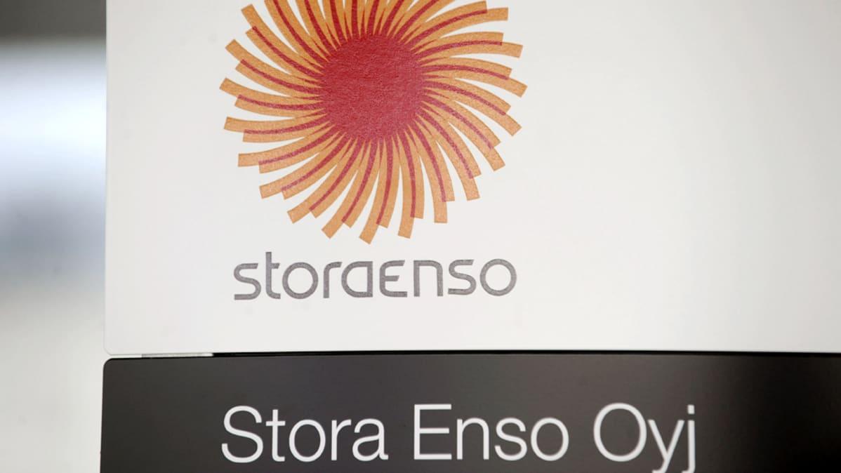 Stora Enson logo.