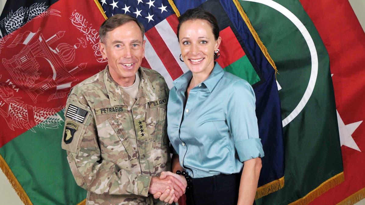 David Petraeus ja Paula Broadwell