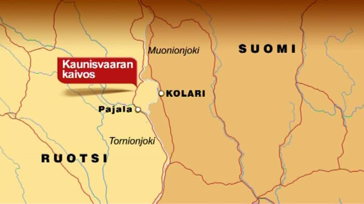 Viranomaiset Huolissaan Kaivoksen Paastoista Tornionjokeen Yle