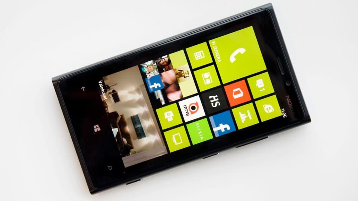 Nokian Lumia 920 -älypuhelin.