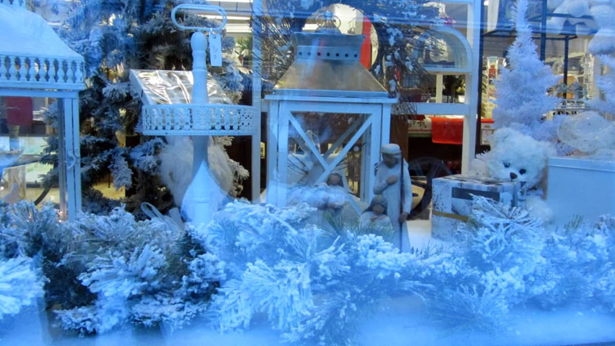 This year, a white Christmas will not be confined to shop windows.