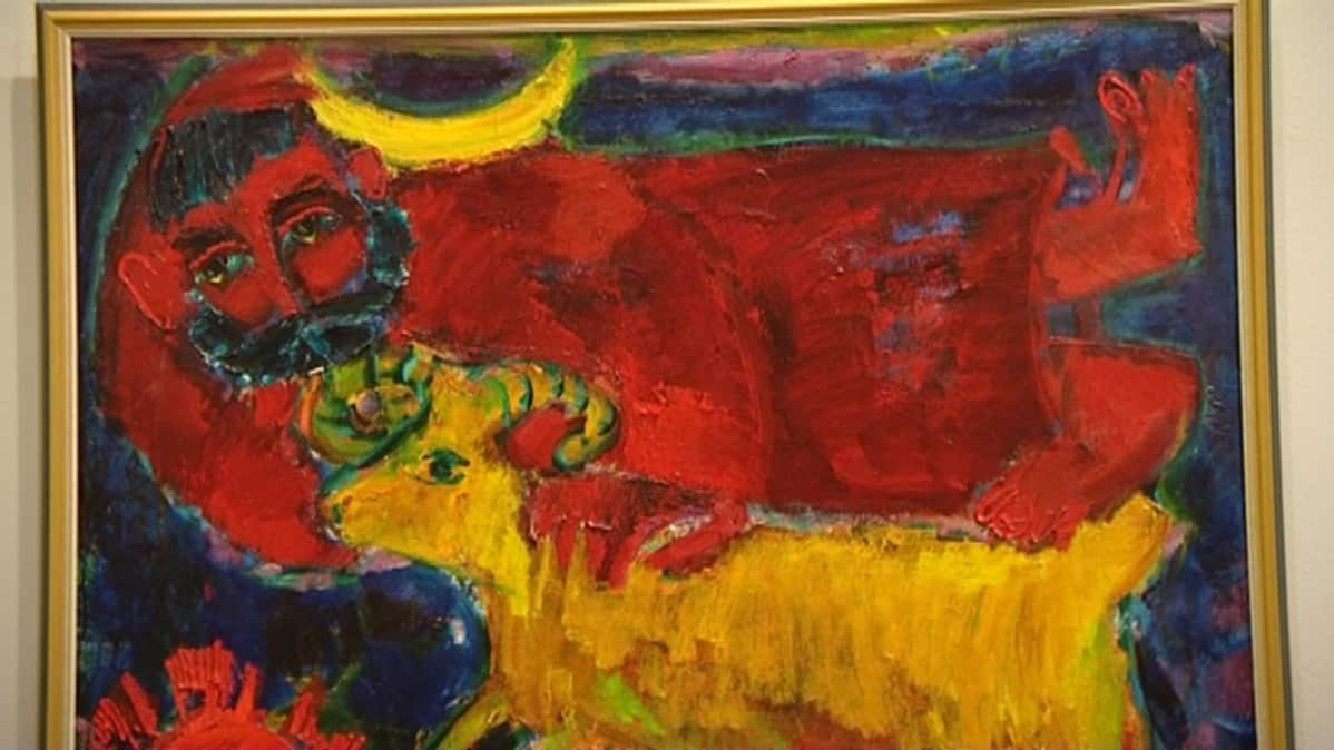 Reidar Särestöniemen maalaus