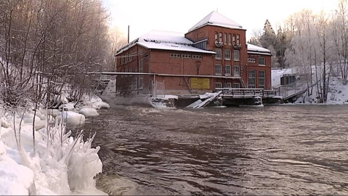 Åminnefors on ensimmäinen neljästä vesivoimalasta, jotka estävät lohta nousemasta kutemaan Mustionjokeen.