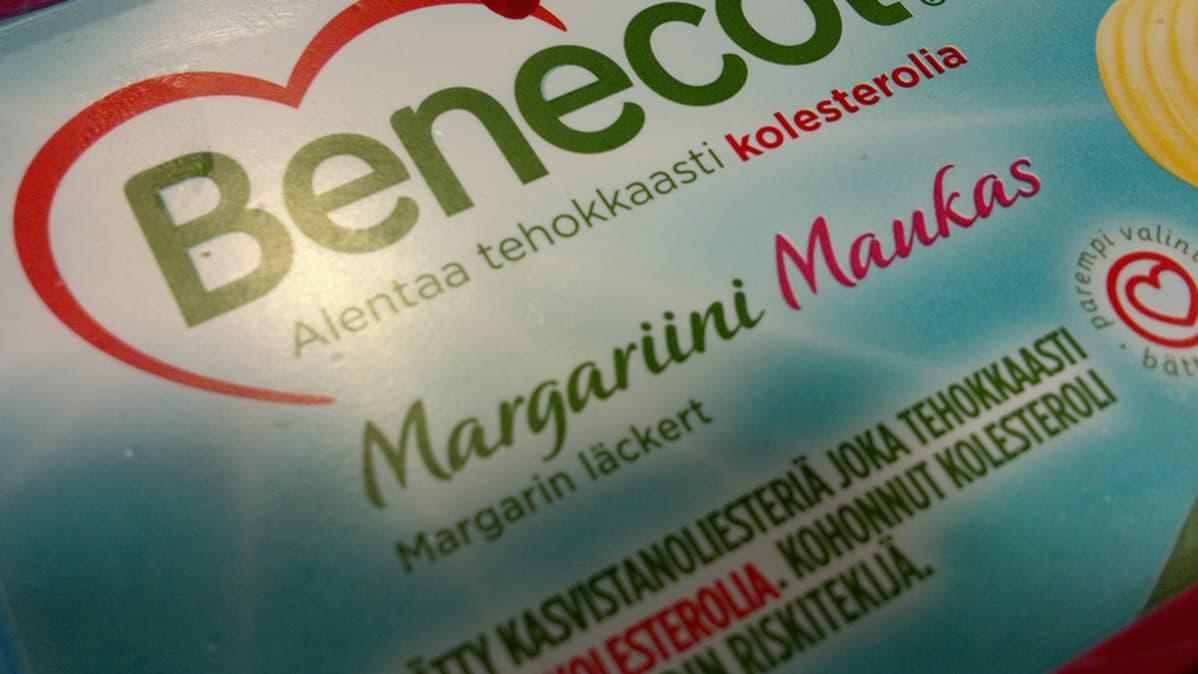 Benecol margariinipakkaus