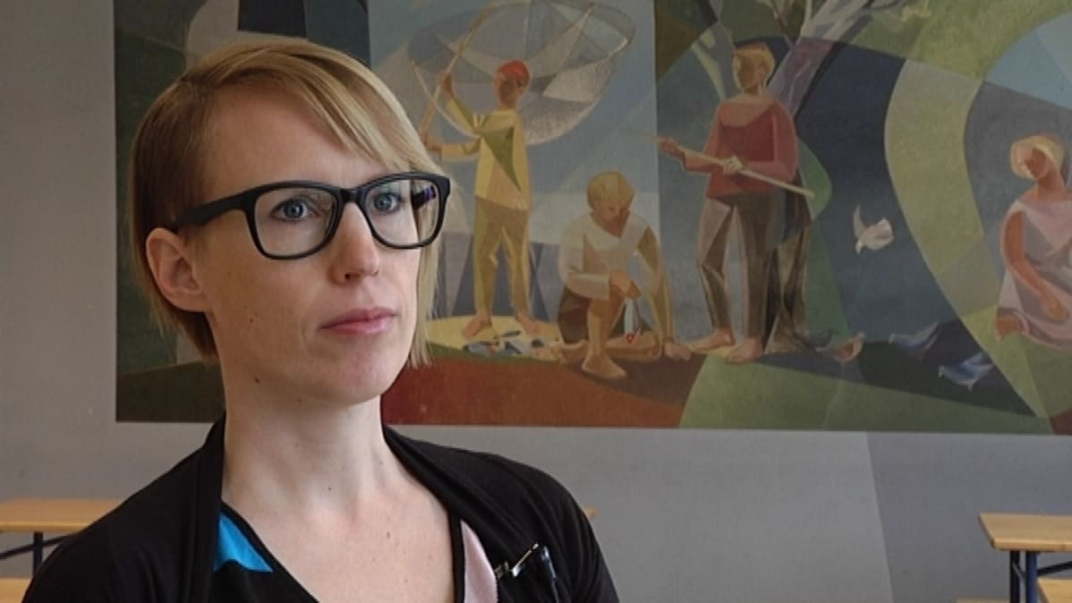 FM Johanna Ruohonen.