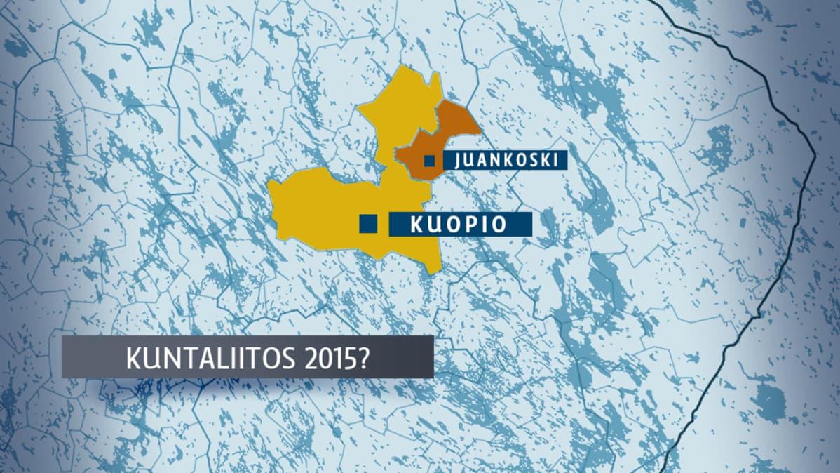 Juankoski Esittaa Kuopiolle Kuntaliitosselvitysta Yle Uutiset