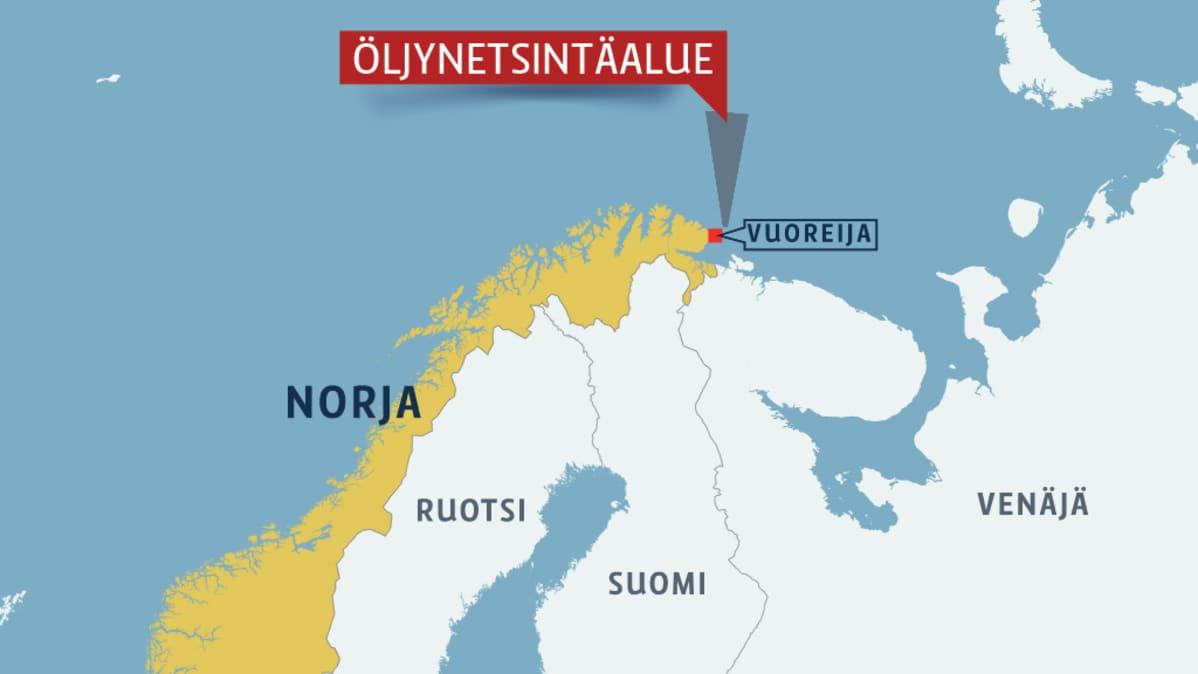 Norja Oljynetsintaan Venajan Rajalla Yle Uutiset Yle Fi