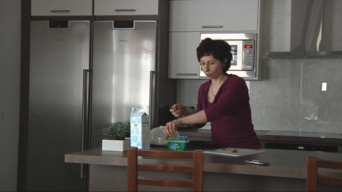 Liperiläinen Irina Turunen