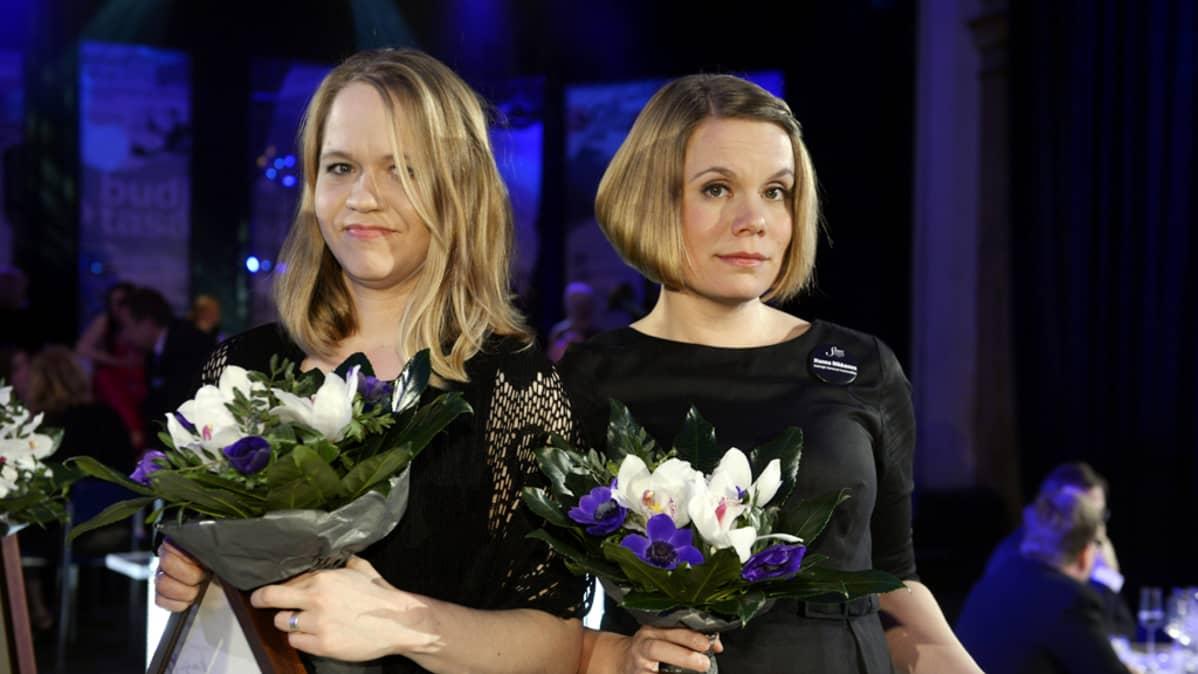 Anu Silfverberg ja Hanna Nikkanen