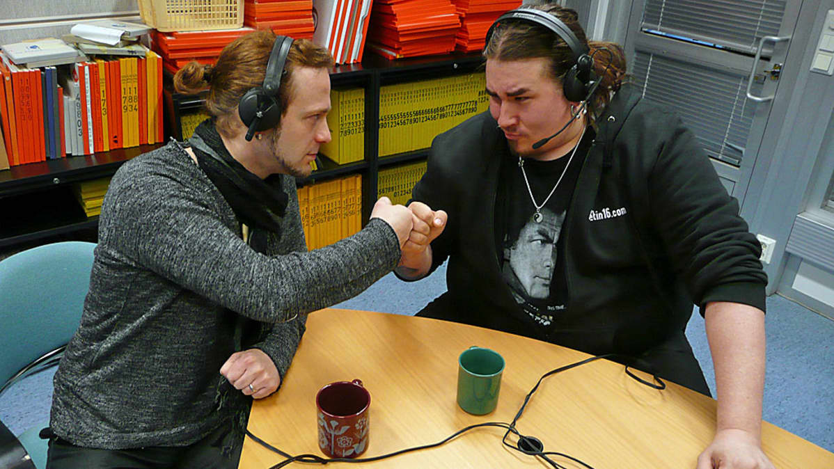 Osku Ketola ja Antti Railio kisaavat Pohjanmaan herruudesta VOF-semifinaalissa