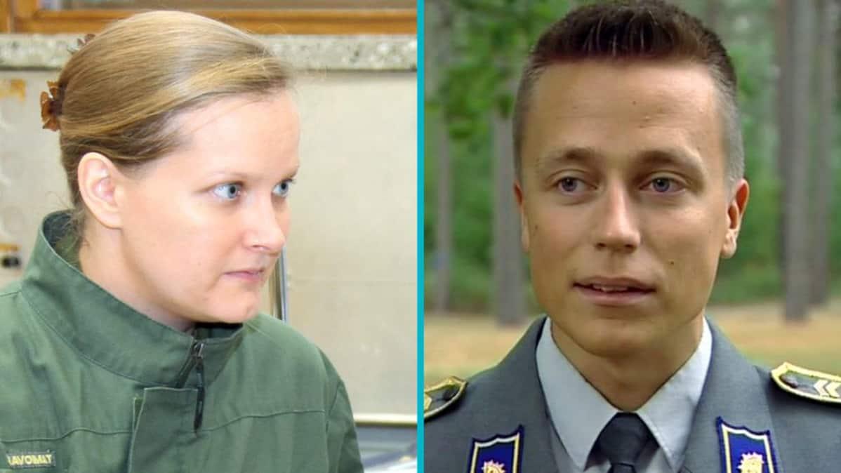 Leila ja Atte Kaleva.