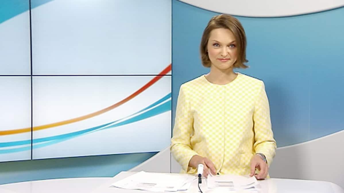 Uutisankkuri Katja Liukkonen