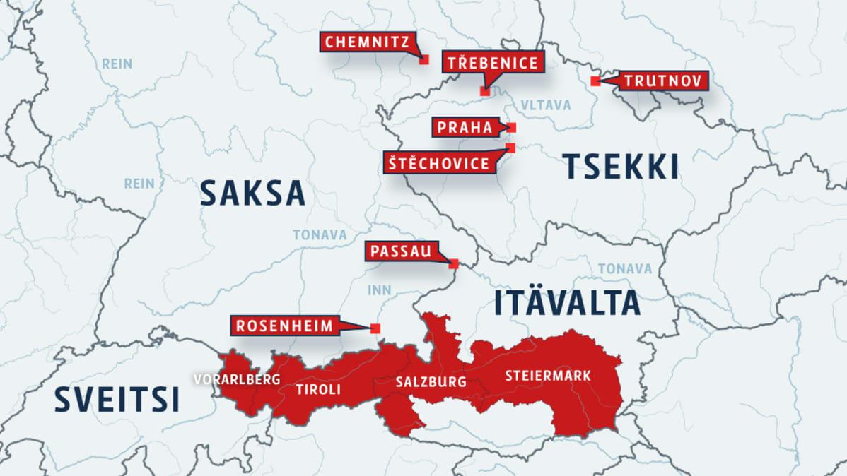 Tsekissa Suojellaan Prahan Historiallista Keskustaa Tulvilta Yle