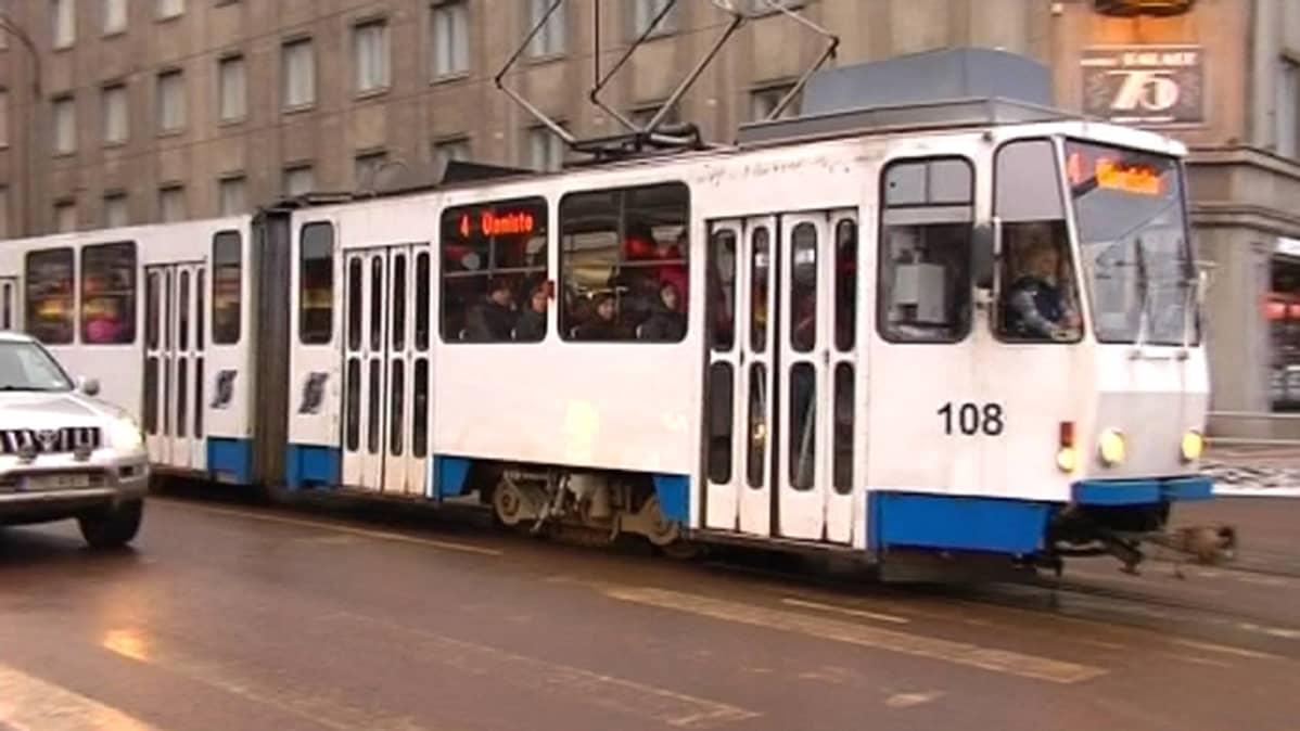 Tallinnan joukkoliikenne