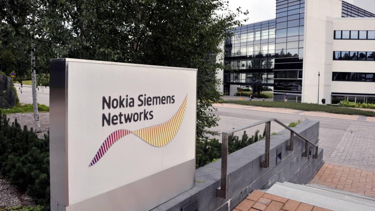 Nokia Siemens Networksin toimitilat Espoon Karaportissa 17. elokuuta 2010.