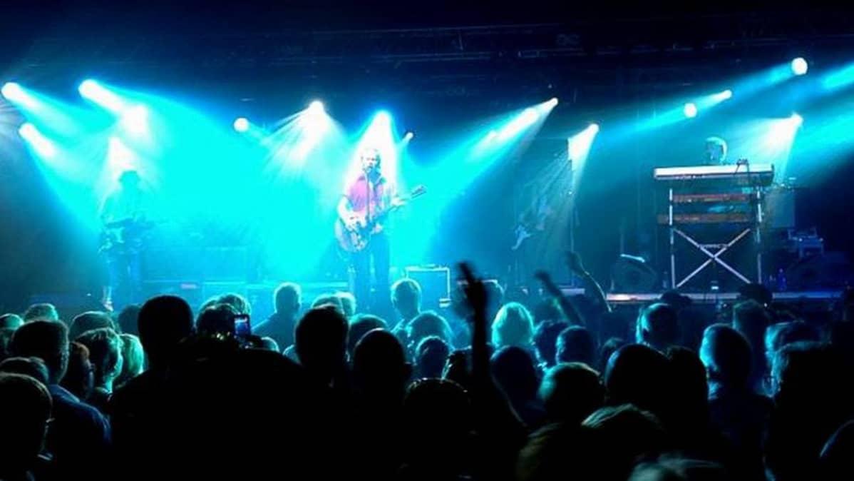 J. Karjalainen esiintyi Imatra Big Band Festivaaleilla 30.6.2013.