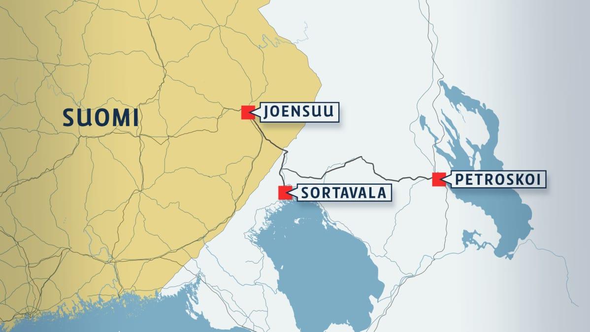 Vakiovuorot Petroskoihin Vastaisku Laittomat Pikkubussit Iso