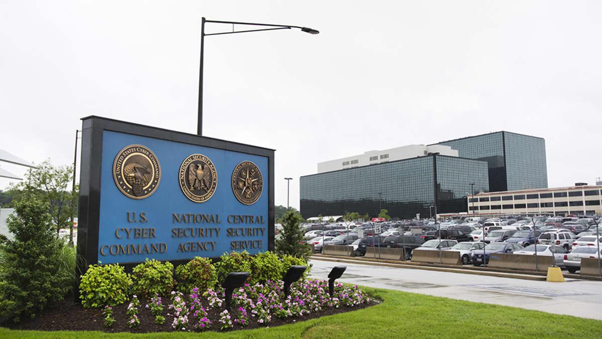 Yhdysvaltojen kansallisen turvallisuusviraston NSA:n päämaja Marylandin Fort Meadessa.