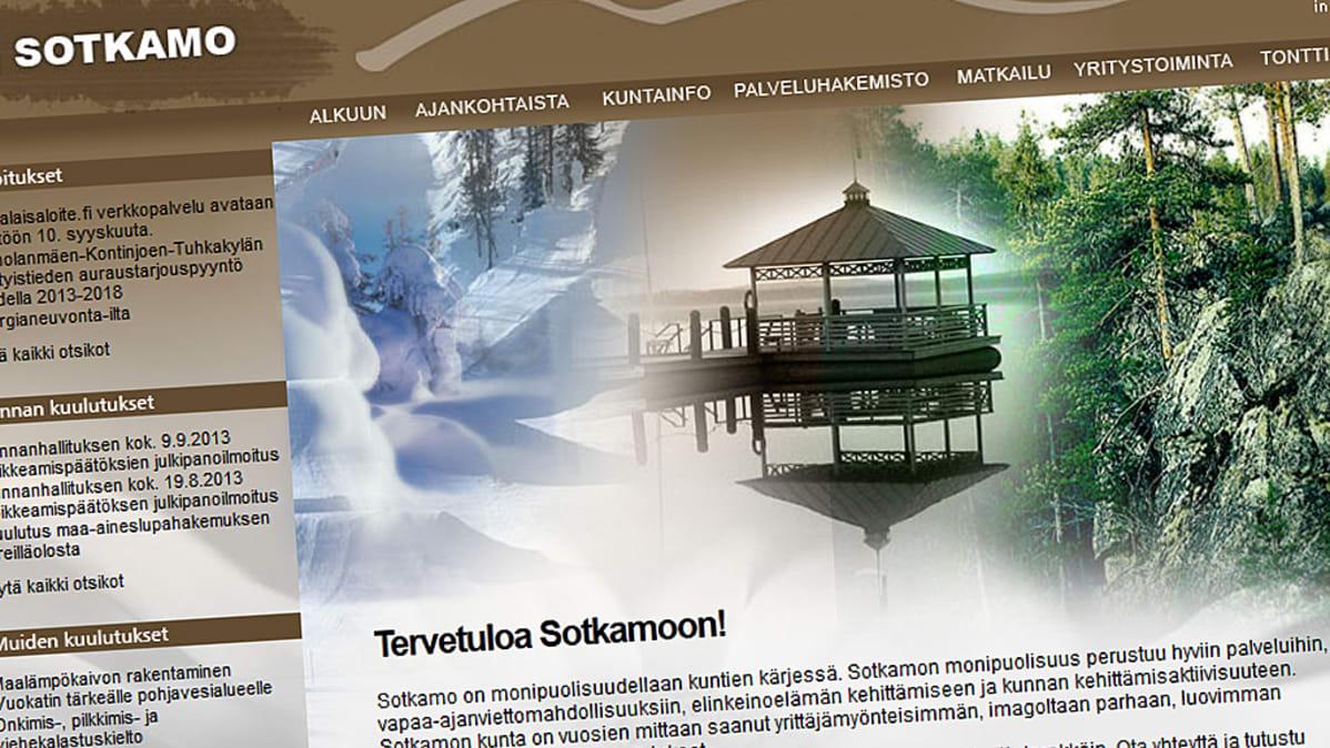 Sotkamon kunnan nettisivut
