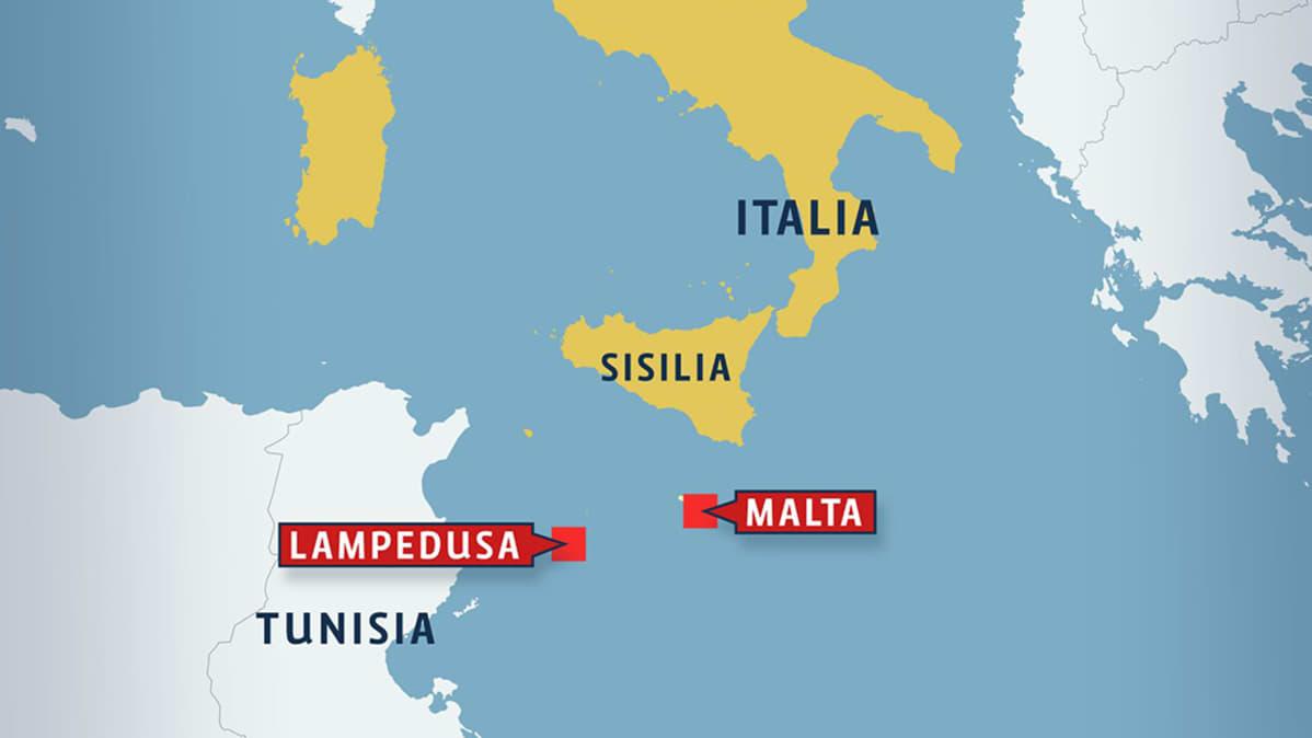 Italian Uudessa Siirtolaisalusturmassa Kymmenia Kuolleita Yle