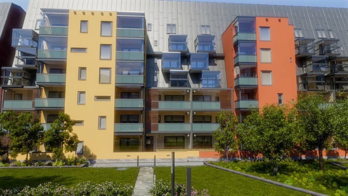 SRV:n taloja Etu-Töölössä